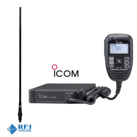 ICOM IC-450 UHF & RFI CDR5000 Antenna
