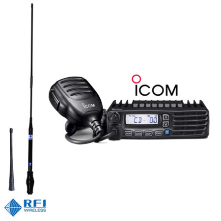 ICOM IC410Pro RFI CD963 Antenna