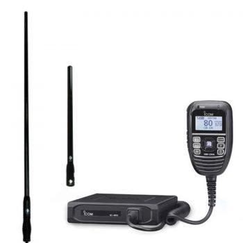 ICOM IC-455 + RFI CDQ5000CDQ3000
