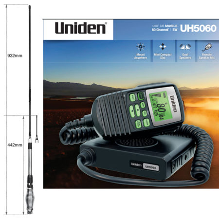 Uniden UH5060 + AT-880 Antenna