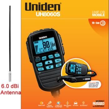Uniden UH8060S + Pac8090 Antenna
