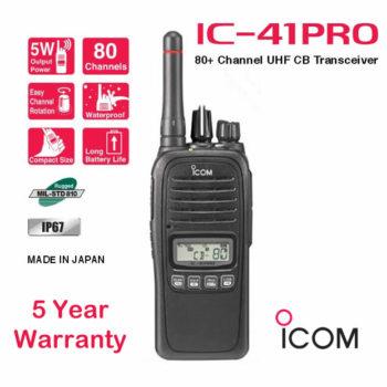 ICOM IC-41Pro 5 Watt Waterproof UHF CB