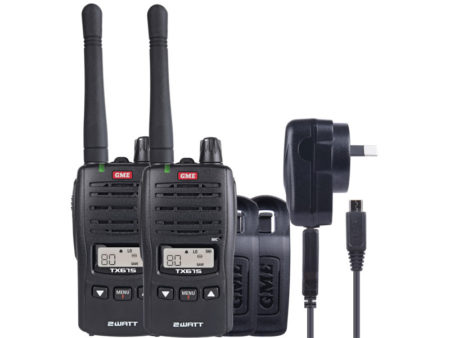 GME TX675TP UHF CB Twin Pack