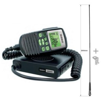 Uniden UH5060 UHF + AT-480 Antenna