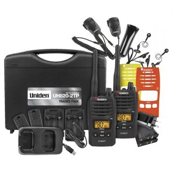 Uniden UH820S-2TP Tradie Pack