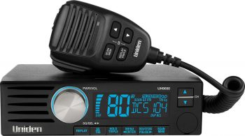 Uniden UH9050 DIN Size UHF