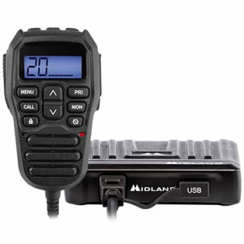 Midland ML802 Remote Speaker Mike Compact UHF CB/LMR Radio
