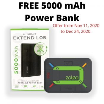 Zoleo Satellite Communicator - Free Powerbank Offer
