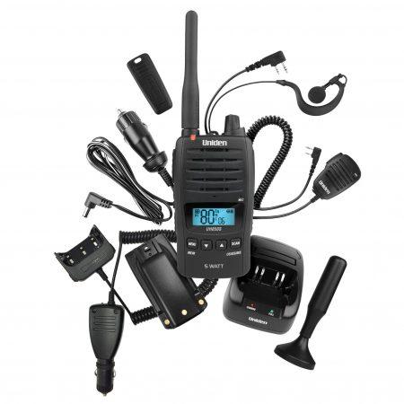 Uniden UH850S-DLX Hadnheld UHF CB Radio