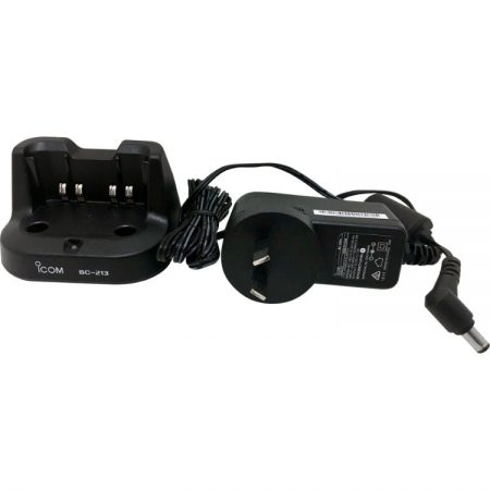 ICOM BC213 Drop-in Charger Cradle with AC Adapter