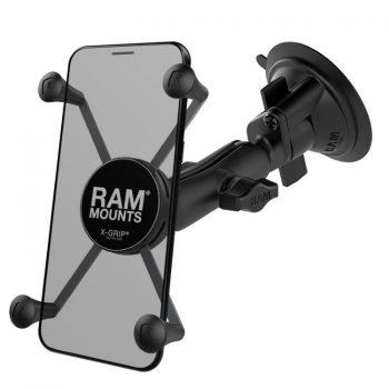 RAM-B-166-UN10BU suction mount for GPS & iphone 12Pro Max